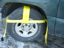 "Pair of Fully Adjustable Tow Dolly Straps (w Hook Options)(now for 12""-18"" tires)"