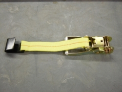 "2"" Ratchet Handle with Flat Hook- Strap Color Options"