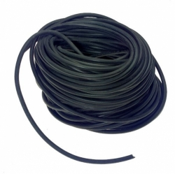 "3/8"" X1000' Hollow Core Rubber Rope- Tarp Strap"