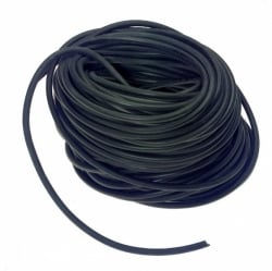 "7/16"" X1000' Hollow Core Rubber Rope- Tarp Strap"