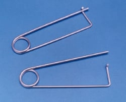 "Corner Iron Organizer ""Safety Pin"""