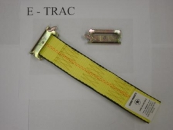 E track clip short end for ratchet handle