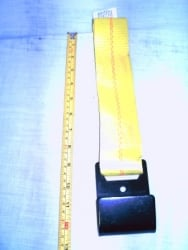 "Replacement 12""  Strap for Ratchet Handle,  w Flat Hook"