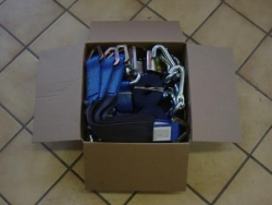 Blue-Star Car Trailer Auto Tie-Down Kit___SHIPPING INCLUDED!