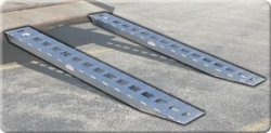 "8ft Low Profile Loading Ramp (PAIR of 94"" x15"" x2 3/4"") - CONUS Shipping Included"