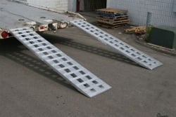 "8ft Low Profile Loading Ramp (Pair of 96"" x18"" x2.25"") - Shipping Included"