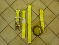 Horizontal E track Basket Wheel Strap