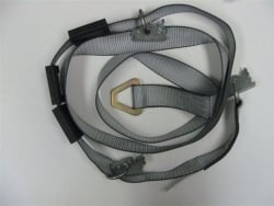 The Grunzweig Wheel Strap for Vertical E track Delta Ring End