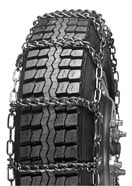 Wide Base Tire Truck Chains (pair) #3210CAM
