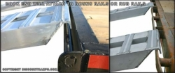 "10' (Pair of 120""x16""x4.25"") Loading Ramps w Hook Top, Knife Foot"
