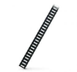 E Track Horizontal - Black - 10' Sections