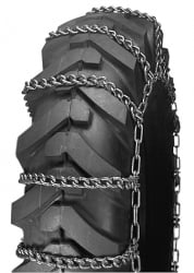 Laclede Grader & Equipment Tire Chains (pair) #2645- Shipping Included