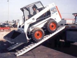 10 ft Bobcat Ramps (Pair) 10,000 lbs HOOK TOP END