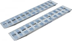 "6 foot low profile aluminum car loading HD ramp  (Pair of 72"" x15"" x 2"") INCLUDES SHIPPING"