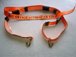 Big Orange Double J Wire Hook Cottrell Style Wheel Strap (Box of 15)