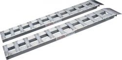 "5 ft Low Profile Aluminum Car Loading Ramps (Pair of 60"" x12"" x 2"") INCLUDES SHIPPING"