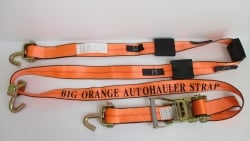 Big Orange 10ft Swivel J Hook and HD Ratchet Wheel Strap (Box of 8)