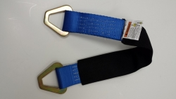 "21"" Axle Strap with Protective Sleeve- BLUE"