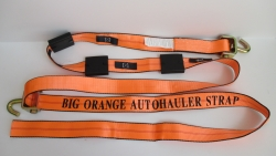 Big Orange 10ft Swivel J Cottrell Style Wheel Strap ver 3 (Box of 15)