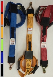 10 FT Diamond Weave REWH Wheel Strap-Complete-Colors
