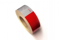 "2"" x 150ft Conspicuity tape 6"" Red/6""White"