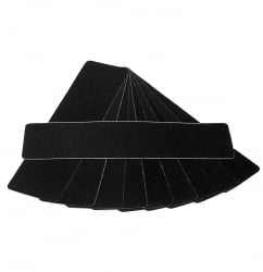 "6"" x 24""  Anti slip Tread Black"