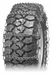 Wide Base Truck Tire Chains Single 3228CAM
