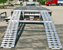 Modular Car Loading Ramp Kit for Flatbed Trailer