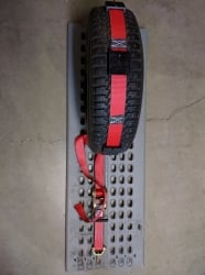 10 ft Ratchet Wheel Strap with Swivel J hooks 8 pack -RED SHIPPING INCLUDED!