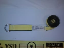 12 Pack of Lasso Straps with Round Ring- Choice of Length
