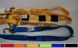 Swivel-J Diamond Weave Wheel Strap- Length, Color, Other Options