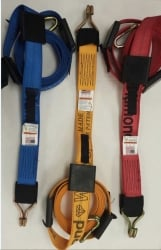 14 FT Diamond Weave REWH Wheel Strap-Complete-Colors
