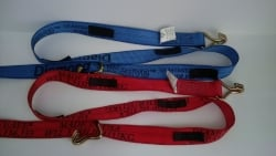 12 FT Diamond Weave WH Wheel Strap-Complete-Colors