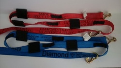10 FT Diamond Weave WH Wheel Strap-Complete-Colors