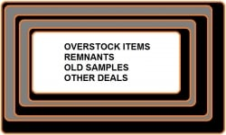 Specials-Samples-Overstock Etc- See options for what is available
