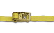 "2""x27' Cargo Ratchet Strap w/ Chain Extensions"