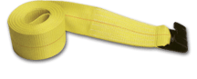 2 x 27 Replacement Cargo Strap w/ Flat Hook