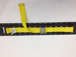 "2""x12' Cam Buckle Cargo Strap Assembly w/ Spring Ends"