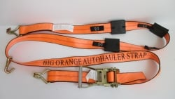 Big Orange 10ft Double J Wire Hook and HD Ratchet Wheel Strap (Box of 8)