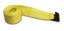 "EXTRA LONG 2"" X 50 FT Replacement Cargo Strap w/ Flat Hook"