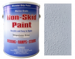 Non-Skid Brush/Roll-On Paint (2 Gallon case- Solvent base)
