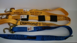 8FT Replacement Diamond Weave Wheel strap with Options