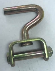 Dog Leg Hook for 2 inch Straps (small hole decking)