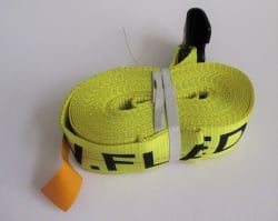 4 x 40 Cargo Strap Assembly with Flat Hooks (8 per box)