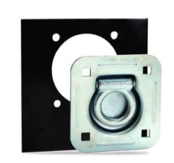Recessed Floor Ring Kit with backing plate, bolts and nuts