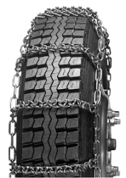 Reinforced Single Tire Truck Chains (pair) #2849CAM