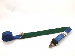 Low Profile Grip Sleeve Diamond Weave Wheel Strap- Wire Hooks- Color- Length Options