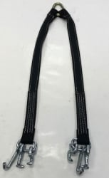 "36"" Bridle with Forged RTJ Hook in BLACK DIAMOND WEAVE"