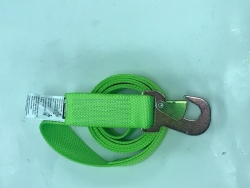 "2"" X 8' DIAMOND WEAVE Wheel Lift Strap with Flat Snap Hook"