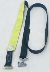 Ultimate Horizontal E-Track Wheel Strap-LP-Replacement No Ratchet